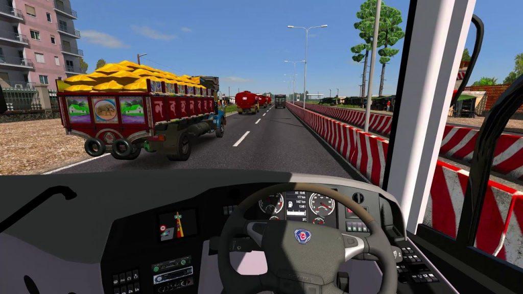 Fahrzeugsimulationsspiel